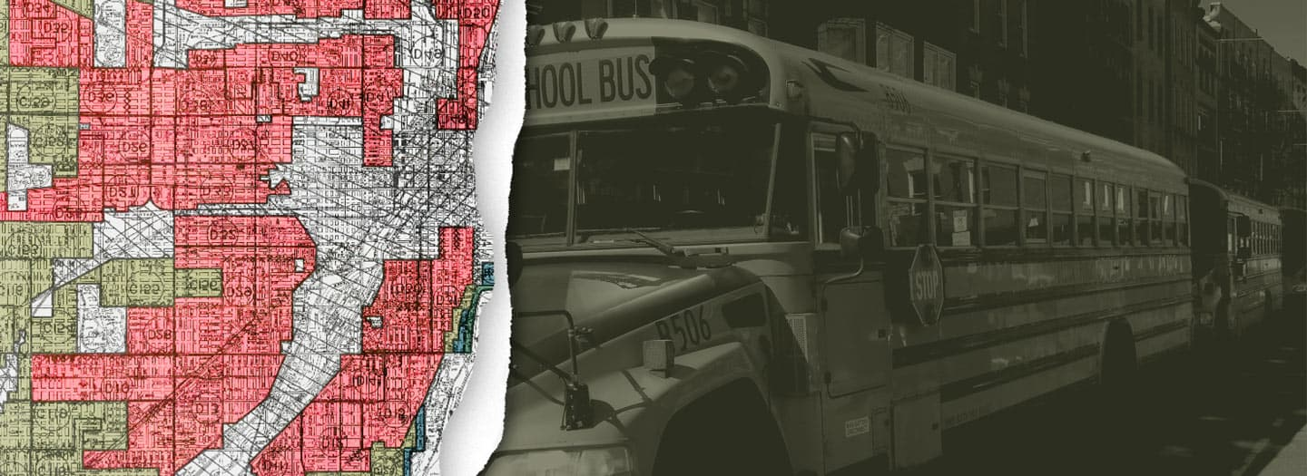 Image of School Buses and maps